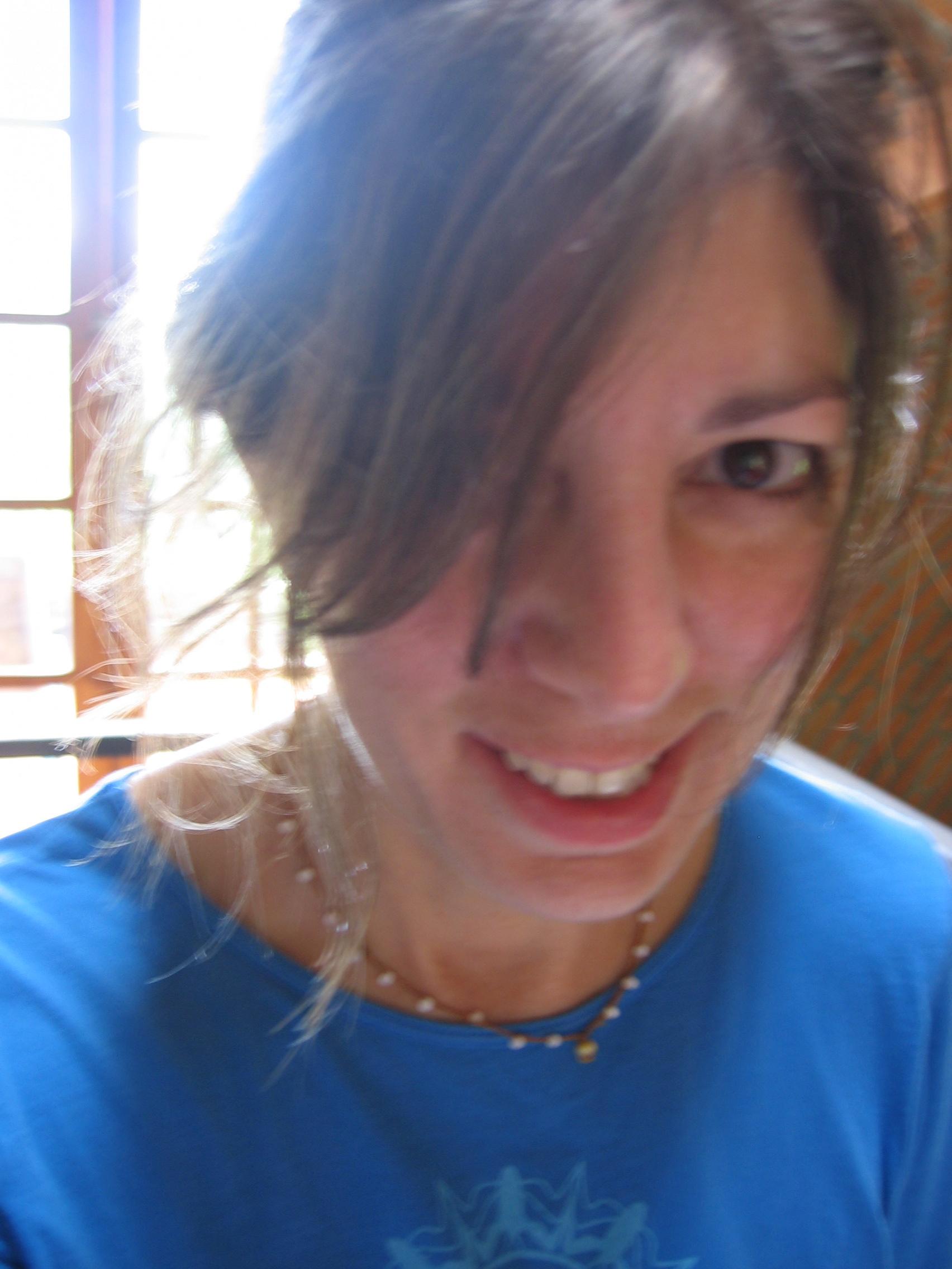 Dianarico Headshot Blue Shirt